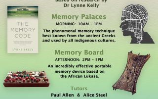 Memory workshops and Mnemonic Arts classes