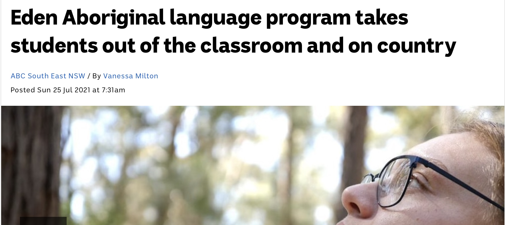 Aboriginal education and The Memory Code